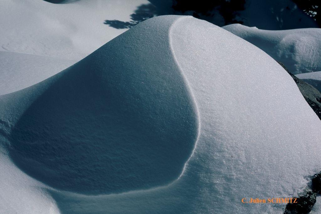 Yin Yang neige